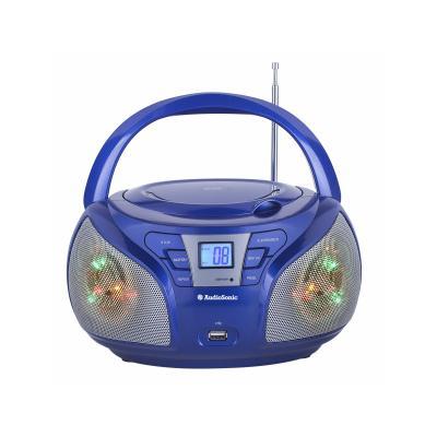 Audiosonic CD-radio: Stereo radio - Blauw