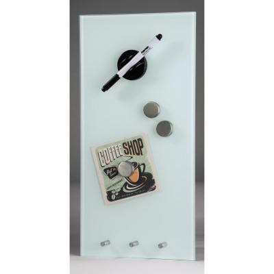 Hama magnetisch bord: Magnetic Glass Board, 20 x 40 cm, white - Wit