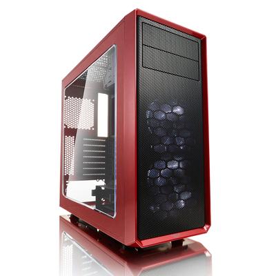 Fractal Design Focus G Behuizing - Zwart, Rood