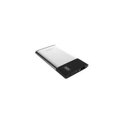 Terratec powerbank: P40 Slim - Zwart, Zilver
