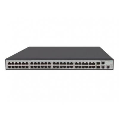 Hewlett Packard Enterprise Aruba 1950-48G-2SFP+-2XGT-PoE+ Switch - Grijs