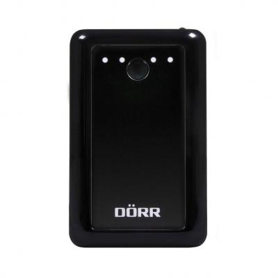 Dörr 6600 mAh, black Powerbank - Zwart