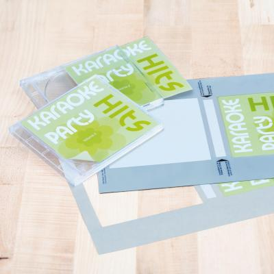 Herma etiket: CD-coveretiketten wit 121.5x117.5 A4 50 st.