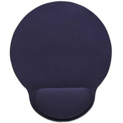 Manhattan Wrist-Rest Mouse Pad, Gel material promotes proper hand and wrist position, Blue Muismat - Blauw