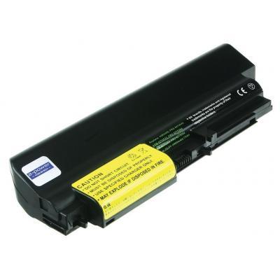 2-power batterij: 10.8v 6900mAh 75Wh Li-Ion Laptop Battery - Zwart