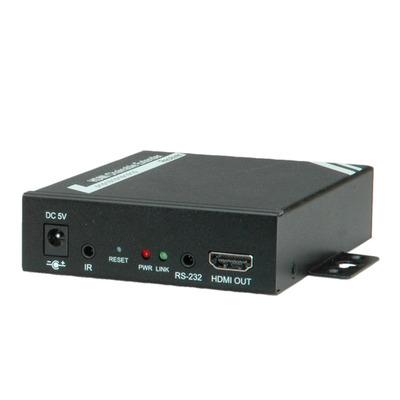 ROLINE HDMI Receiver over TP, for 14.01.3468 100 m Kabel splitter of combiner