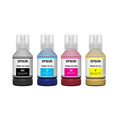 Epson SC-T3100x Yellow 140ml T49H - Geel