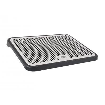 Modecom notebook koelingskussen: CF11 - Zwart, Zilver