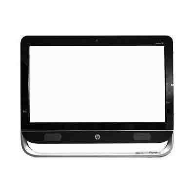HP Front bezel kit - With camera lens and logo Computerkast onderdeel - Zwart