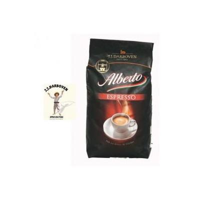 Alberto koffie: Espresso koffie bonen 8x1000 gram