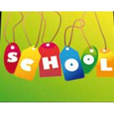 Daiber fotolijst: School - Multi kleuren