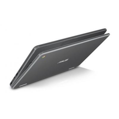 "Asus laptop: Chromebook 29.464 cm (11.6"") (16:9) LED HD+ (1366x768), Intel Celeron Dual-Core N3350, 4 GB Onboard, 32GB ....."