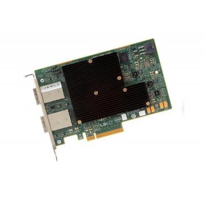 Broadcom SAS 9300-16e SGL Interfaceadapter