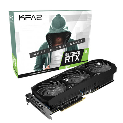 KFA2 GeForce RTX 3070 SG Videokaart - Zwart