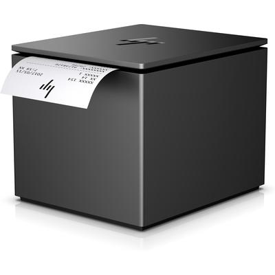 HP ElitePOS Printer Serial + Power Adapter Seriele kabel - Zwart