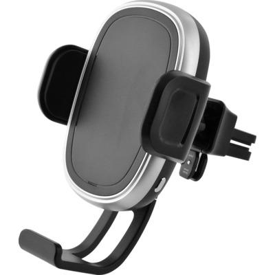 Azuri Qi automatic wireless (inductive) car charger - 2amp- zwart Houder