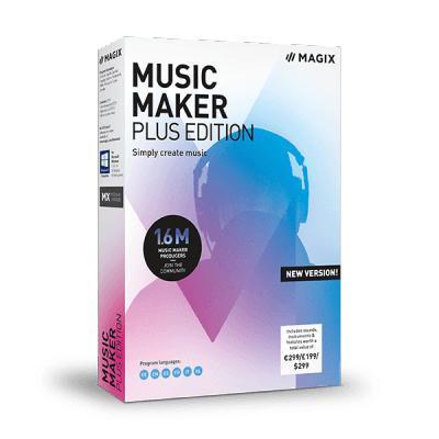 Magix Music Maker 2019 Plus audio software