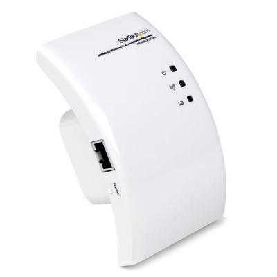 Startech.com netwerk verlenger: Wi-Fi Draadloze Range Extender   300 Mbit/s 802.11 b/g/n Access Point / Repeater / .....