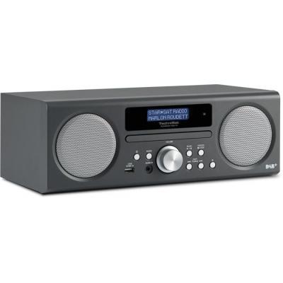 Technisat CD-radio: TechniRadio Digit CD - Antraciet