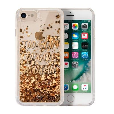 LAUT POP GLITTER GLAM Mobile phone case - Goud, Transparant
