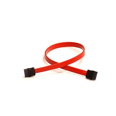 Supermicro SATA Cable, 35cm, Pb-free ATA kabel - Rood
