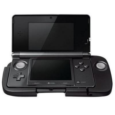 Nintendo game controller: Circle Pad Pro - Zwart