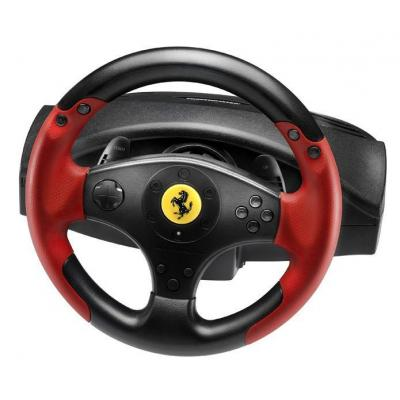 Thrustmaster game controller: Ferrari Racing Wheel Red Legend PS3&PC - Zwart, Rood