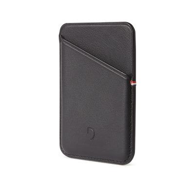 Decoded MagSafe Card Sleeve - Zwart