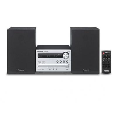 Panasonic home stereo set: SC-PM250BEG - Zwart, Zilver