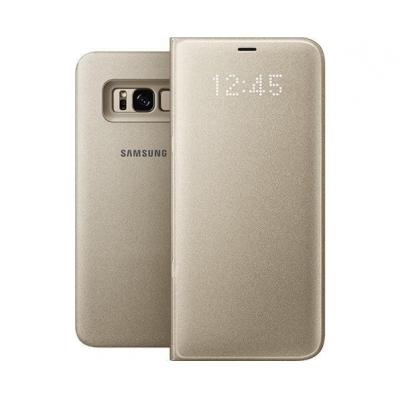 Samsung Galaxy S8+ LED View Cover Goud mobile phone case