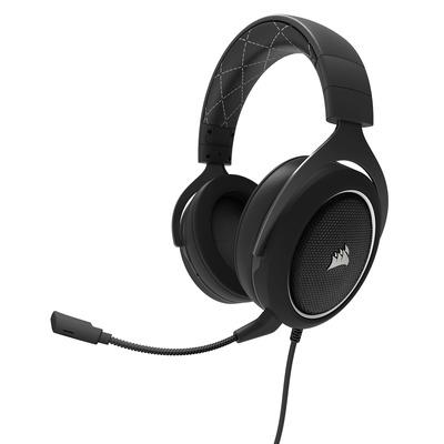 Corsair HS60 Headset - Zwart, Wit
