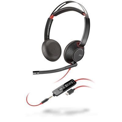 POLY Blackwire 5220 Headset - Zwart