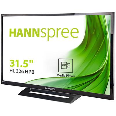 Hannspree Hanns.G HL 326 HPB Monitor - Zwart