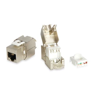 Equip Cat.6 Shielded Keystone Jack Toolfree, Aluminium Kabel adapter