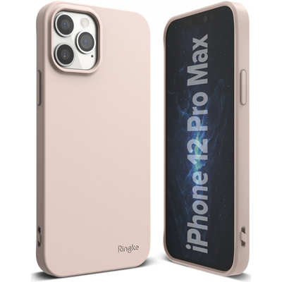 Ringke Air S Backcover iPhone 12 Pro Max - Pink Sand - Roze / Pink Mobile phone case
