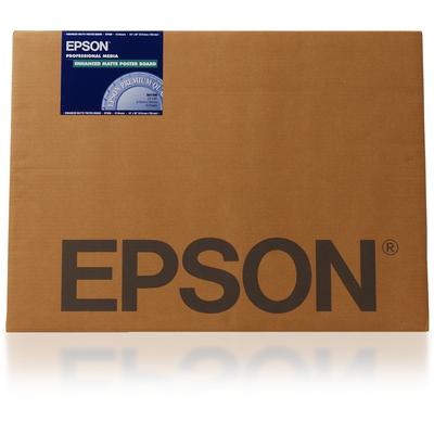"Epson grootformaat media: Enhanced Matte Posterboard, 24"" x 30"", 1130g/m²"