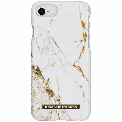 IDeal of Sweden Fashion Backcover iPhone SE (2020) / 8 / 7 / 6(s) - Carrara Gold Accessoire