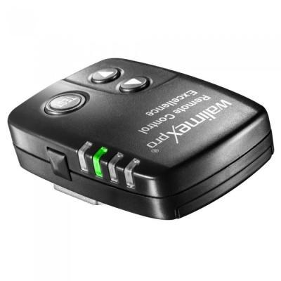 Walimex photo studio flash unit accessoire: VE&VC Excellence Radio Remote Trigger, 30m Max, 16 Channels, 2.4 GHz - Zwart