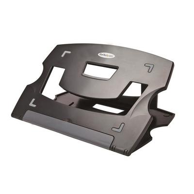 StarTech.com Draagbare laptopstandaard verstelbaar ergonomische stand laptop verhoger Notebooksteun - Zwart
