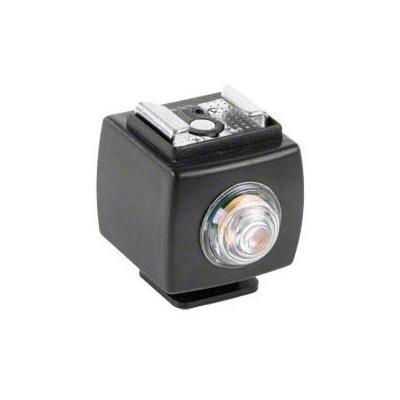 Walimex camera flits accessoire: Sync Flash Shoe with Servo Flash Release - Zwart