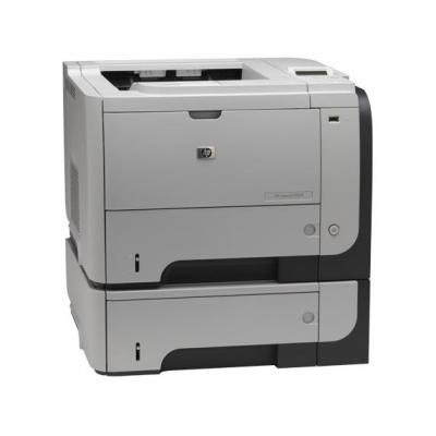 HP laserprinter: LaserJet P3015x - Zwart