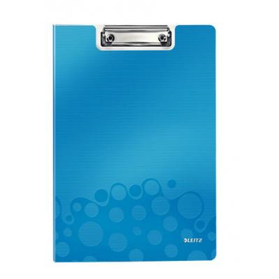 Leitz WOW Clipfolder with cover Klembord - Blauw