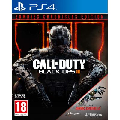 Activision game: Call of Duty: Black Ops 3 + Zombie Chronicles DLC  PS4