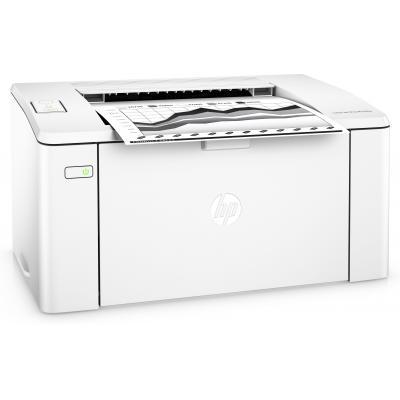 HP laserprinter: LaserJet LaserJet Pro M102w printer - Zwart