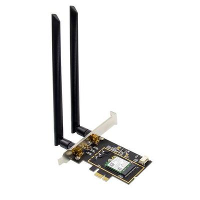 Microconnect MC-PCIE-INT7260DUAL Netwerkkaart - Zwart