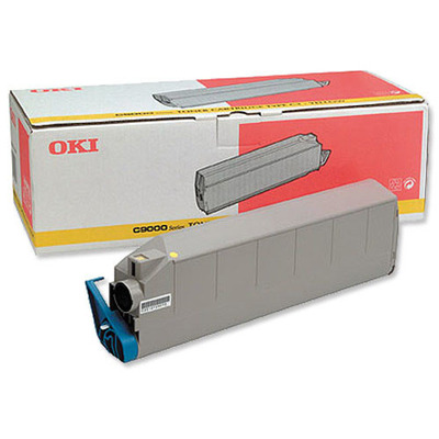 OKI cartridge: Yellow Toner Cartridge for C9300 C9500