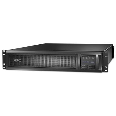 APC Smart-UPS X SMX2200RMHV2U Noodstroomvoeding - 8x C13, 2x C19 uitgang, USB, 2200VA UPS - Zwart