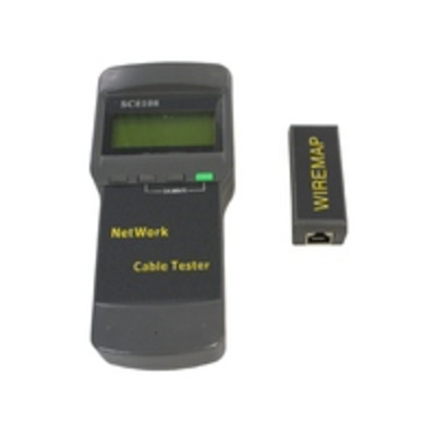 Microconnect LCD Cable Tester Netwerkkabel tester - Zwart