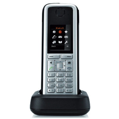 Unify OpenStage M3 handsets Telephone headset - Zwart, Zilver