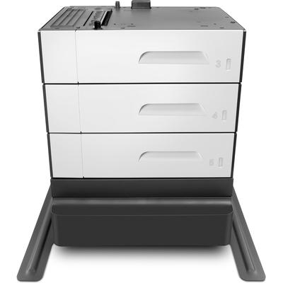 HP PageWide Enterprise 3x500 sheet Paper Tray & Stand Papierlade - Zwart, Grijs